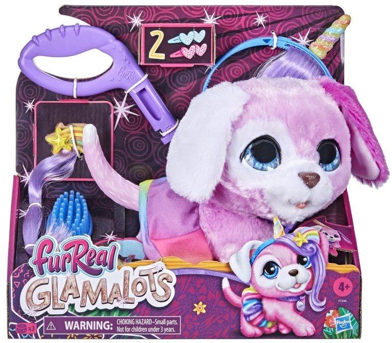 Fur Real Friends: Duży Zwierzak Na Smyczy Z Modowymi Akcesoriami