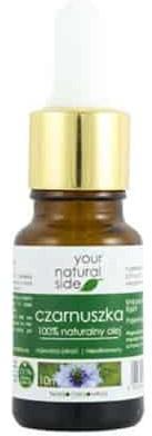 Your Natural Side Olej z Czarnuszki nierafinowany 10ml Pipeta