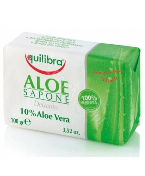 EQUILIBRA mydło aloesowe 100 g