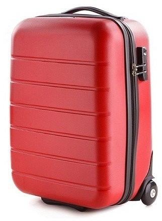 b15c9ec528d22 Vip Mała walizka V25-10-741 czerwona V25-10-741-30