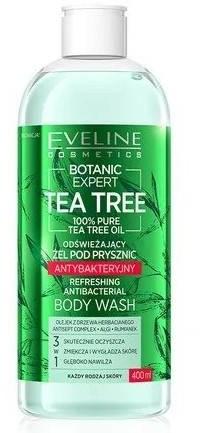 Eveline TEA TREE Odświeżający antybakteryjny żel pod prysznic 400ml 52960-uniw