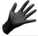 Doman black Doman Black rękawice bezpudrowe nitrylowe diagnostyczne roz. M 100szt