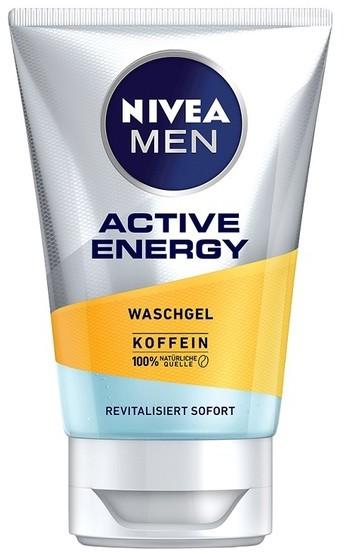 Nivea Nivea Men Active Energy energetyzujący Żel do mycia twarzy 100ml