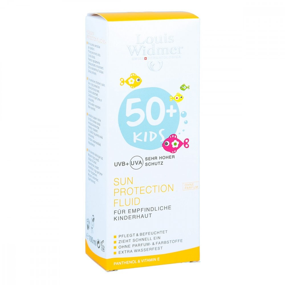 Louis Widmer GmbH Widmer Kids Sun Protection Fluid 50+ unparfümiert 100 ml