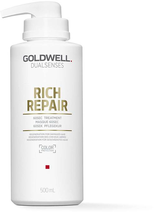 Goldwell DUALSENSES RICH REPAIR 60-sekundowa kuracja do włosów zniszczonych 500ml 0000050154
