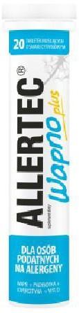 Polpharma Allertec Wapno Plus 20 tabletek musujących 6754562