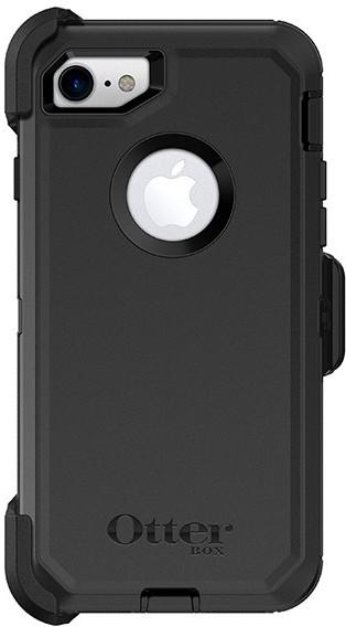 Otterbox Defender pancerna obudowa etui składane do Apple iPhone 7 CZARNY TWORZYWO SZTUCZNE NA PRZÓD I TYŁ 34854