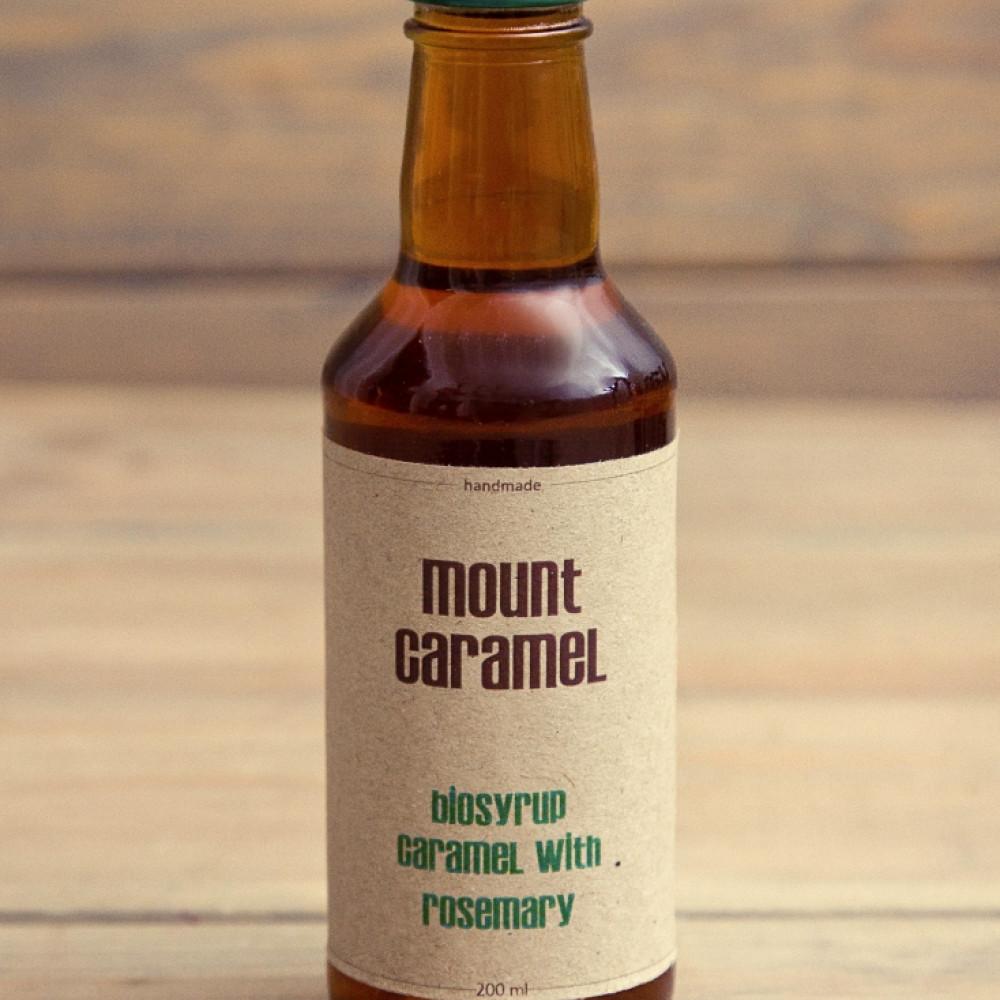 Mount Caramel BIO syrop karmel z rozmarynem 200 ml