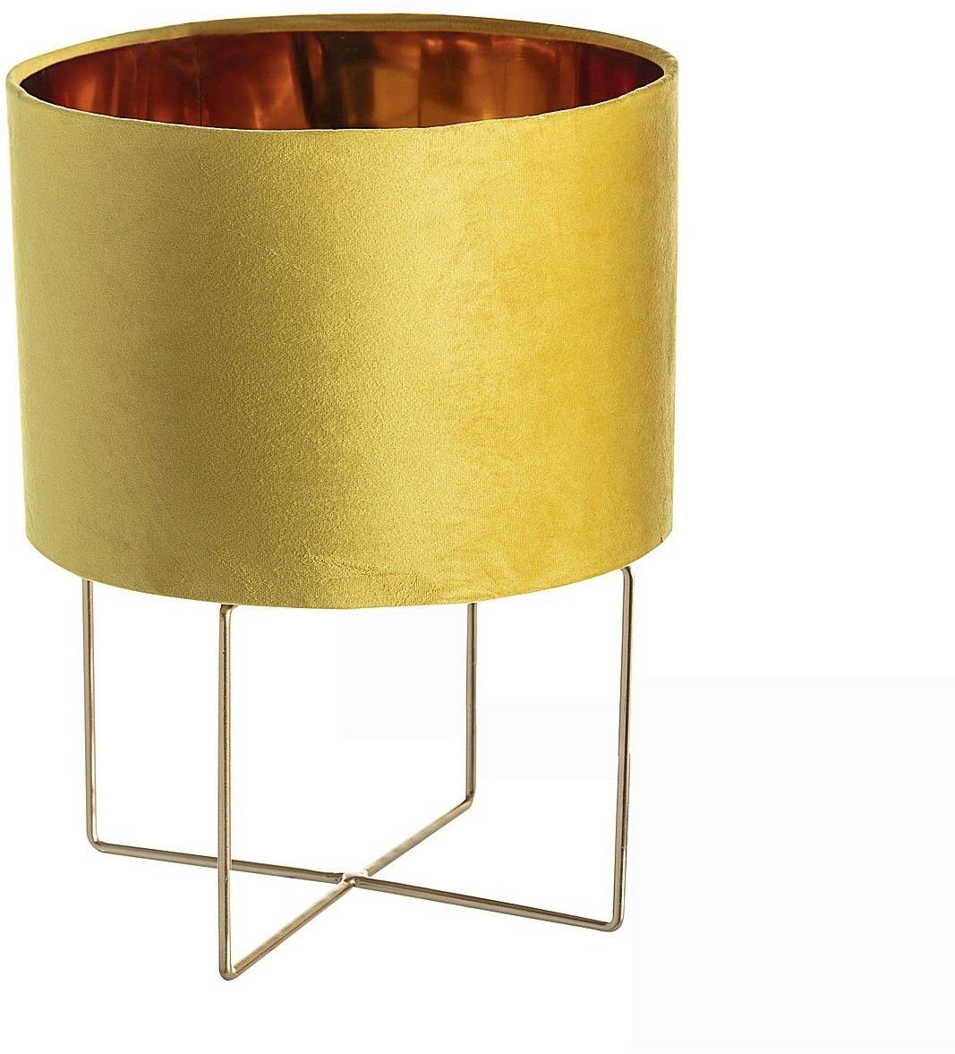 Dekoria Lampa stołowa Trixi Gold 28 x 37 cm