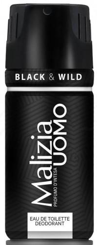 Malizia Uomo Black - dezodorant w sprayu dla mężczyzn (150ml) 8003510023226_20190604154024