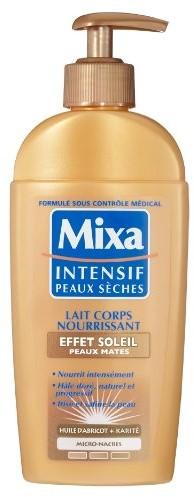 Mixa ciała intensywne suchość Milk efekt Soleil skóry 1056801002
