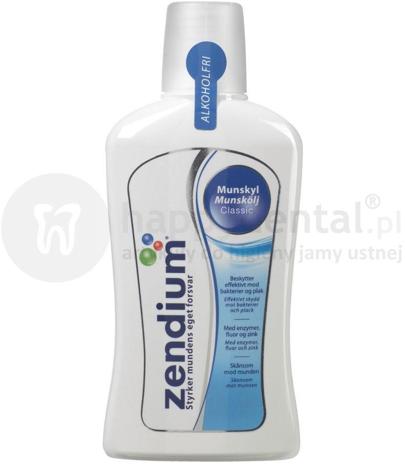 Unilever ZENDIUM COMPLETE PROTECTION 500ml - płyn ochronny z enzymami do codziennej pielęgnacji jamy ustnej wspomagający naturalne właściwości śliny