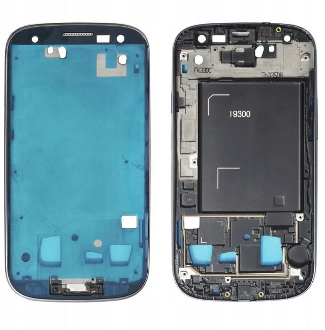 Samsung Ramka LCD Galaxy S3 i9300 Niebieski