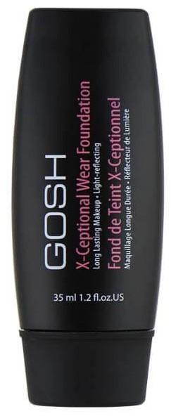 Gosh X-Ceptional Wear Fond De Teint Podkład kryjący Chestnut