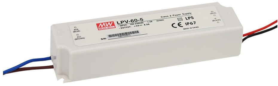 Relco Group Zasilacz LED hermetyczny 12V 60W IP67 Premium LPV-60-12