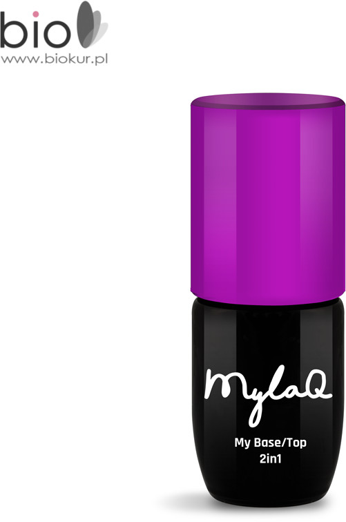 MyLaq Lakier hybrydowy My Base Top 2in1 MylaQ 5 ml M104