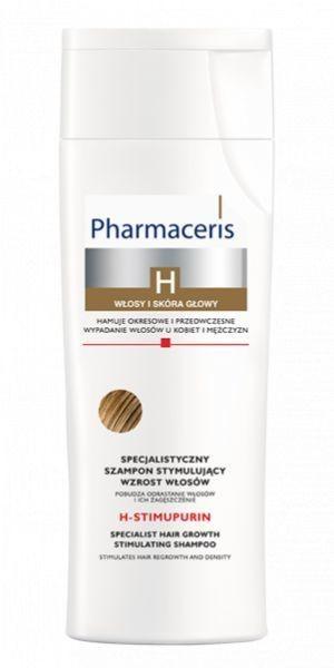 Pharmaceris SPECJALISTYCZNY SZAMPON STYMULUJĄCY WZROST WŁOSÓW pobudza odrastanie włosów i ich zagęszczenie H-STIMUPURIN