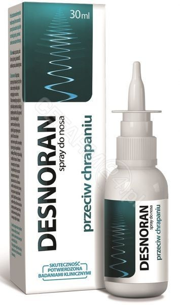Aflofarm Desnoran Spray do nosa przeciw chrapaniu 30 ml 9078237