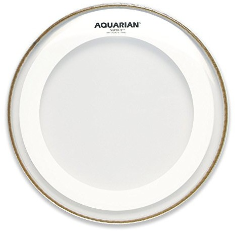 Aquarian aquarian super225cm (10cale) drum Head/perkusja sierści dwuwarstwowy z Studio ringtm AMRS210