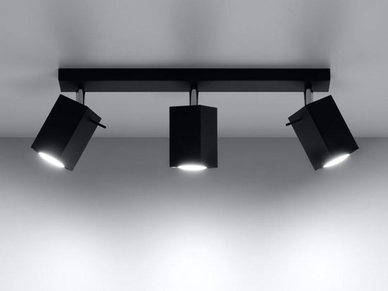 Sollux Lighting Merida lampa sufitowa (spot) 3-punktowa czarna SL.0101