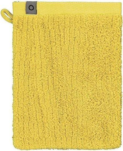 Essenza Rękawica kąpielowa Connect Organic Lines żółta 401065-200-008