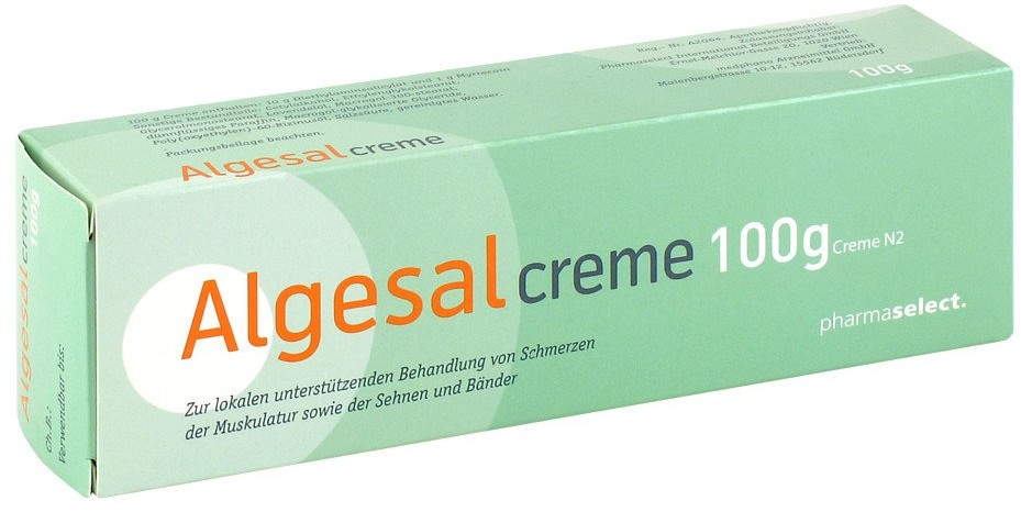 medphano Arzneimittel GmbH Algesal Creme 100 g