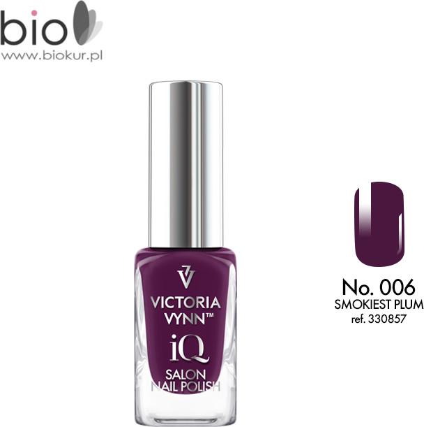 Victoria Vynn Lakier klasyczny Nail Polish iQ 006 SMOKIEST PLUM 9 ml 330857