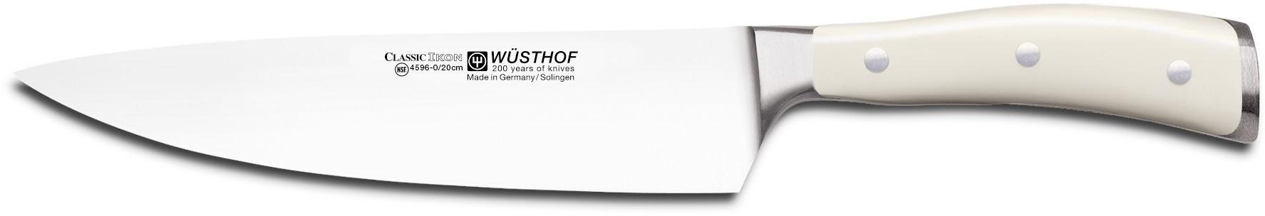 Wusthof Nóż szefa kuchni 20 cm Classic Ikon Creme W-4596-0-20