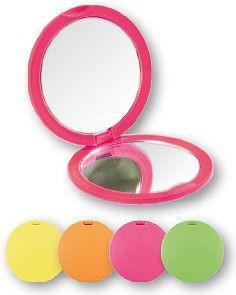Top Choice Lusterko kosmetyczne Colours Lusterko kompaktowe okrągłe 8