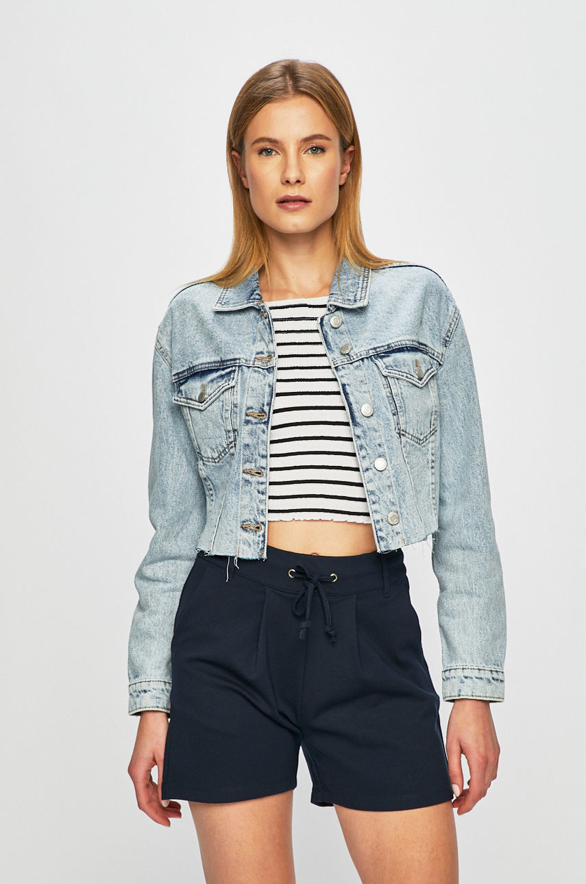 TALLY WEIJL Kurtka jeansowa SJADEJADA