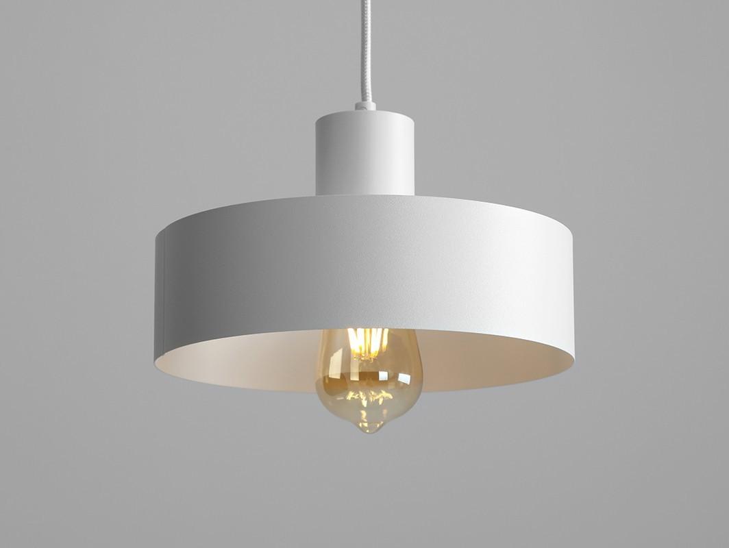 Customform Lampa wisząca FAY 1 M - biały Lampa wisząca FAY 1 M - biały(LP001FAY-1M-01)