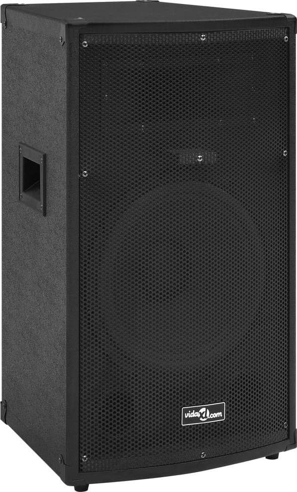 vidaXL Profesjonalny głośnik pasywny HiFi 1000 W czarny 32x32x64 cm