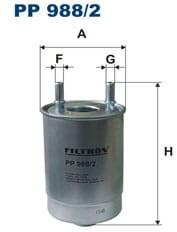 Filtron Filtr Paliwa PP988