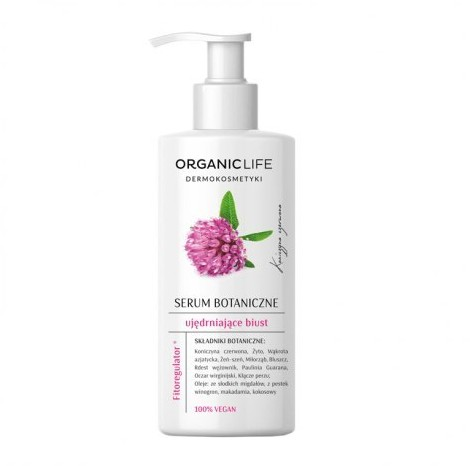 Organic Life Life Serum botaniczne do ciała - Ujędrniające biust