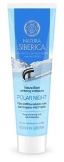 Natura Siberica Natural Black Whitening Toothpaste naturalnie wybielająca czarna pasta do zębów Noc Polarna 100g 58155-uniw