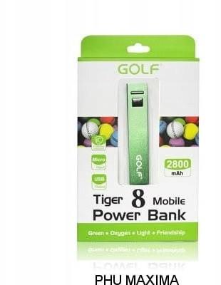 Golf Power Bank Tiger 8 2800mAh