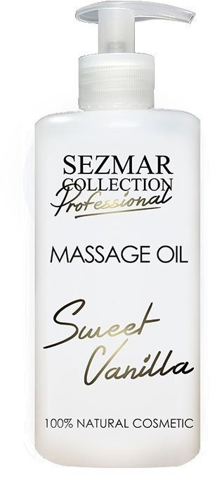 Hristina Hristina Naturalny olej do masażu słodka wanilia 500 ml