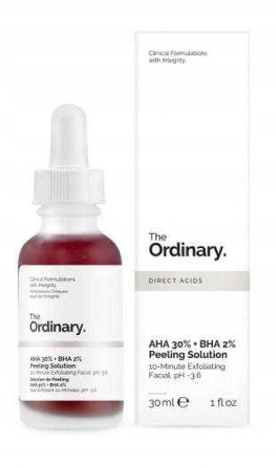 The Ordinary Aha 30% + Bha 2% Peeling Kwasowy 30ML