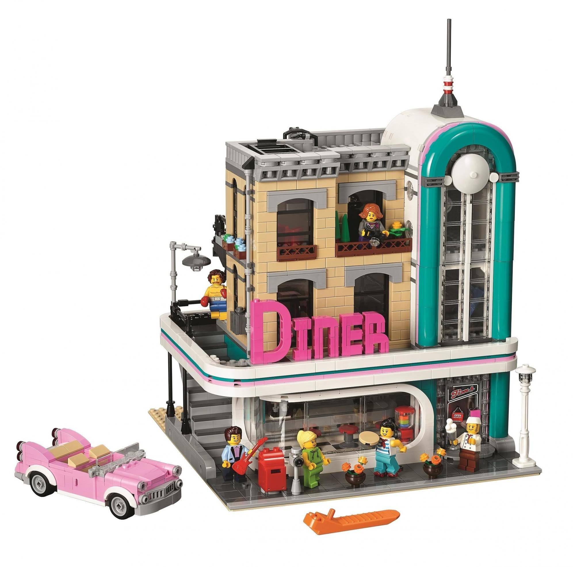 LEGO Restauracja w centrum miasta 10260