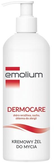 Emolium Dermocare, kremowy żel do mycia, 400 ml 400 ml | SZYBKA WYSYŁKA!
