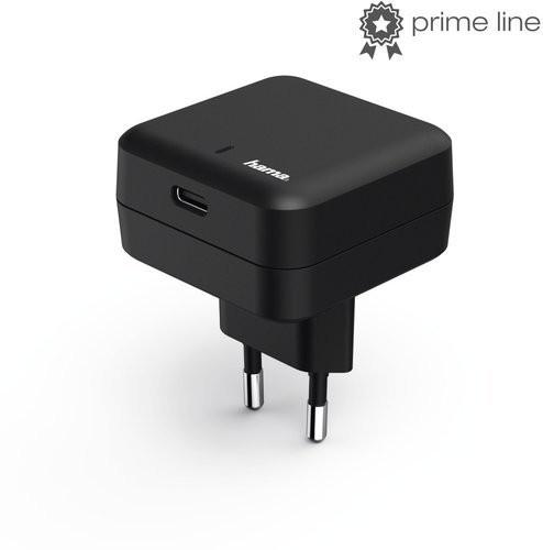 ŁADOWARKA SIECIOWA USB Type-C GNIAZDO PD) 3A CZARNA