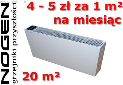 NOGEN NOGEN GRZEJNIK ELEKTRYCZNY N2810 1000W ENERGOOSZCZĘDNY N2810
