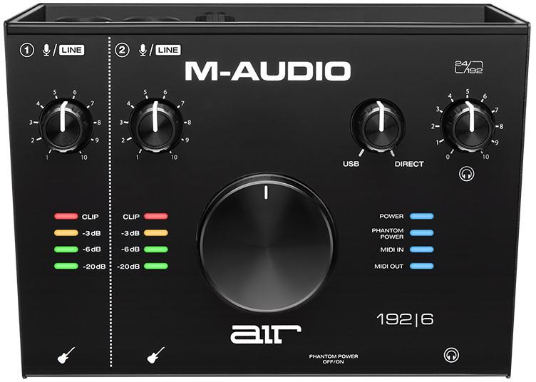 M-Audio AIR 192/6 - Interfejs Audio USB