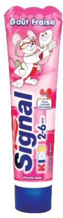 Unilever Pasta do zębów Kids Truskawka 50ml Unilever