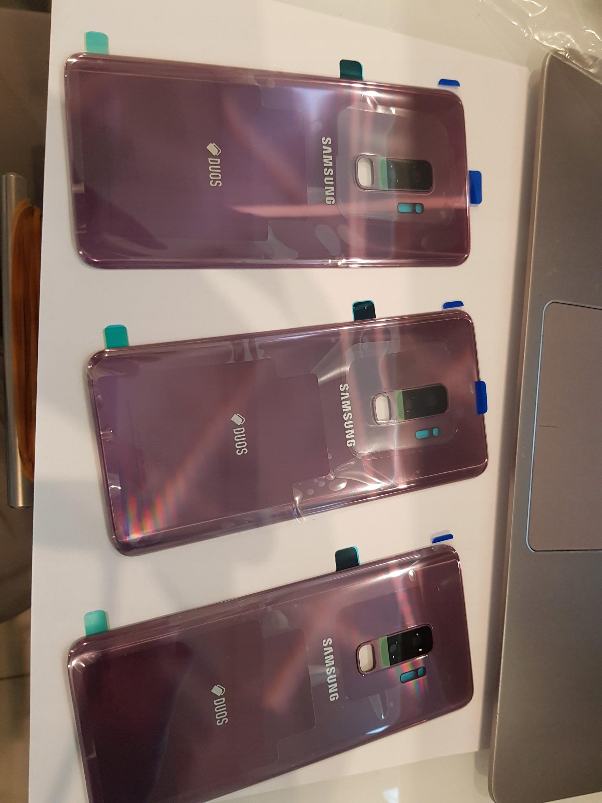 Samsung Oryginalna Klapka s9+ g965f fiolet #19