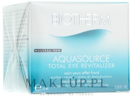 Biotherm Krem do okolic oczu - Aquasource Total Eye Revitalizer Krem do okolic oczu - Aquasource Total Eye Revitalizer