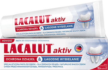 Natur Produkt Pasta do zębów Aktiv ochrona dziąseł & łagodne wybielanie 75 ml