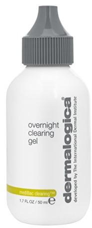Dermalogica medibac Overnight Clearing Gel unisex, żel do twarzy, 1er Pack (1X 50ML) 0666151061736