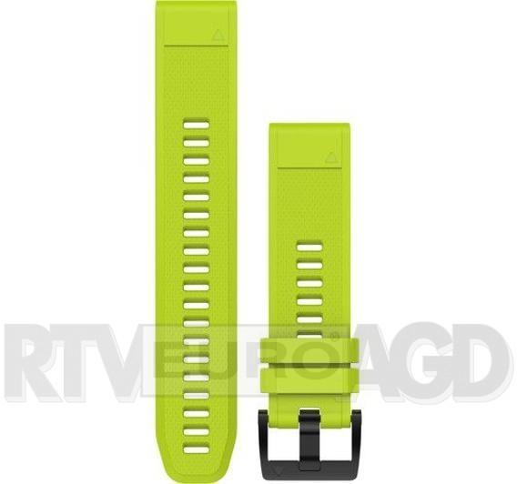 Garmin Pasek silikonowy Quick Fit 22mm Fenix 5 żółty   (010-12496-02)