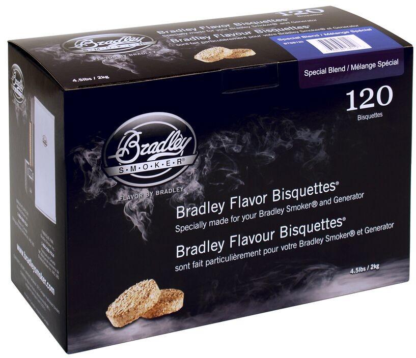 Bradley Brykiet Flavor Bisquettes 120 Special Blend